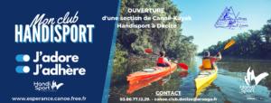 OUVERTURE D'UNE SECTION HANDISPORT DE CANOE-KAYAK À DECIZE