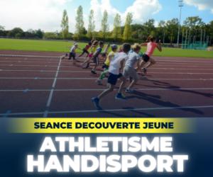 Découverte ATHLETISME Handisport Jeune