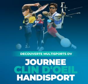 Journée «CLIN D'OEIL» Handisport