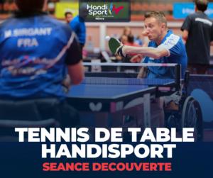 DECOUVERTE TENNIS DE TABLE HANDISPORT